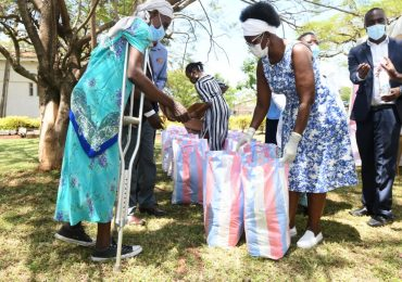 Rare support for Kisumu's Cancer Patients